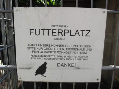 Futterplatz Schild (Kopie)