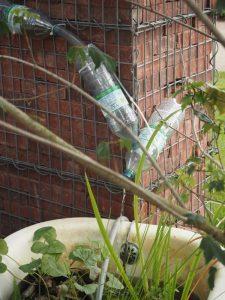 Flaschen-Wasserleitung