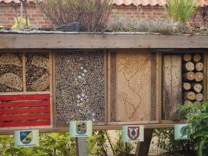 Insektenhoteles der einzelnen Landkreise