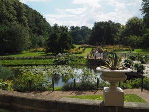 Blick zurück vom Schloß in den Schloßgarten