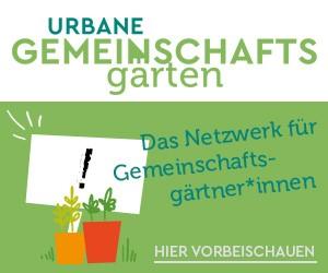 Logo urbane Gemeinschaftsgärten